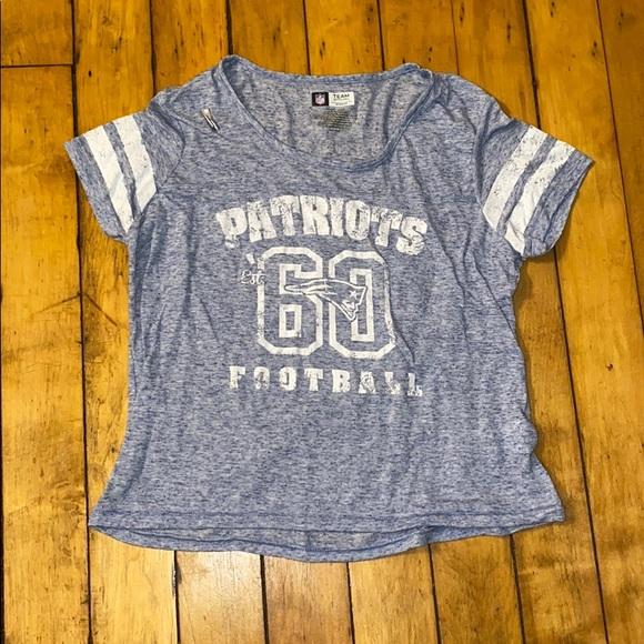 NFL Tops - Patriots team apparel crop top